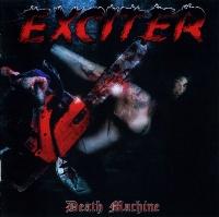 [Exciter Death Machine Album Cover]