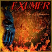 [Exumer Fire and Damnation Album Cover]
