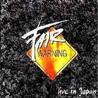[Fair Warning Live in Japan Album Cover]
