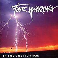 [Fair Warning In the Ghetto (EP) Album Cover]
