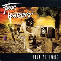 [Fair Warning Live at Home Album Cover]