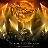 [Fair Warning Talking Ain't Enough - Live in Tokyo Album Cover]
