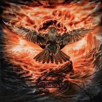 [Falconer Black Moon Rising Album Cover]