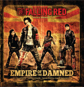 [Falling Red Empire Of The Damned Album Cover]