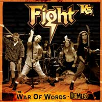 [Fight K5 - The War of Words Demos Album Cover]