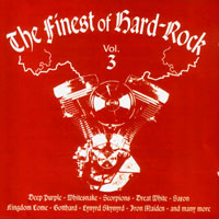 [Compilations The Finest of Hard Rock Vol. 3 Album Cover]