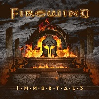 [Firewind Immortals Album Cover]
