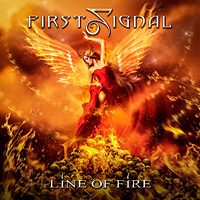First Signal Line of Fire Album Cover