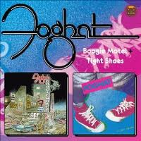 [Foghat Boogie Motel/Tight Shoes Album Cover]