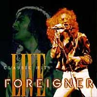 [Foreigner Classic Hits Live Album Cover]