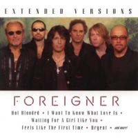 [Foreigner Extended Versions Album Cover]