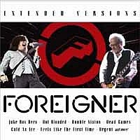 [Foreigner Extended Versions II Album Cover]