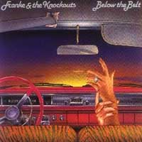 [Franke and the Knockouts Below The Belt Album Cover]