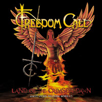 [Freedom Call Land Of The Crimson Dawn  Album Cover]