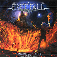 [Magnus Karlsson's Free Fall Kingdom of Rock Album Cover]