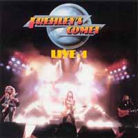 [Frehley's Comet Live plus 1 Album Cover]