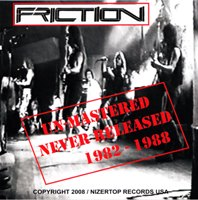 [Friction Un-Mastered Album Cover]