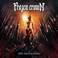 [Frozen Crown The Fallen King Album Cover]