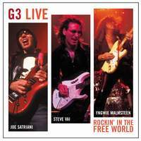 [G3 Rockin' In The Free World Album Cover]