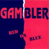 [Gambler Red on Blue Album Cover]