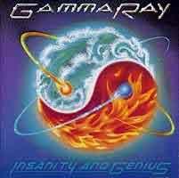 [Gamma Ray Insanity and Genius Album Cover]