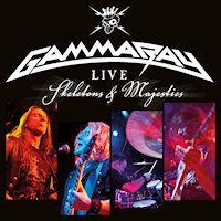 [Gamma Ray Live - Skeletons and Majesties Album Cover]