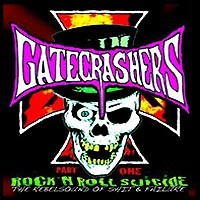 [Gatecrashers Rock 'n Roll Suicide, Part 1 Album Cover]