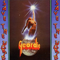 [Geordie Save The World Album Cover]
