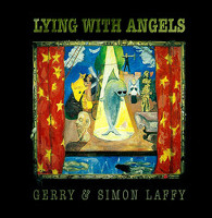 [Gerry Laffy Lying With Angels Album Cover]