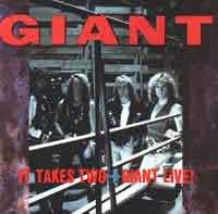 [Giant It Takes Two plus Giant Live! Album Cover]