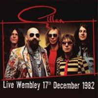 [Gillan Live At Wembley 17th December 1982 Album Cover]