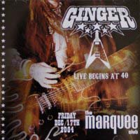 [Ginger Live Begins At 40 Album Cover]