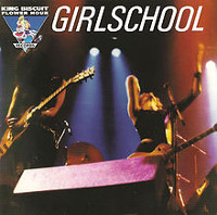 [Girlschool King Biscuit Flower Hour Presents Album Cover]