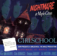 [Girlschool Nightmare At Maple Cross Album Cover]