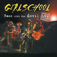 [Girlschool Race With The Devil (1) Album Cover]