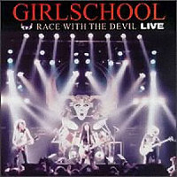 [Girlschool Race With The Devil (2) Album Cover]