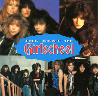 [Girlschool The Best Of Album Cover]