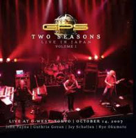 GPS Two Seasons Live In Japan Album Cover