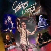 [Graham Bonnet Band Live...Here Comes The Night Album Cover]