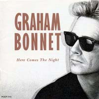 [Graham Bonnet Here Comes the Night Album Cover]