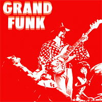 [Grand Funk Railroad Grand Funk (Red Album) Album Cover]