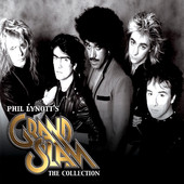 [Phil Lynott's Grand Slam The Collection Album Cover]