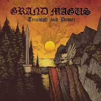 [Grand Magus Triumph and Power Album Cover]