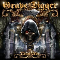 [Grave Digger 25 To Live Album Cover]