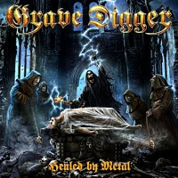 [Grave Digger Healed By Metal Album Cover]