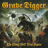 [Grave Digger The Clans Will Rise Again Album Cover]