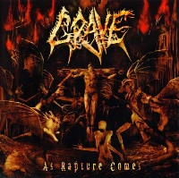 [Grave As Rapture Comes Album Cover]