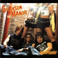 [Grayson Manor Back On The Rock Album Cover]