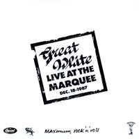[Great White Live at the Marquee Official Bootleg Album Cover]