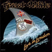 [Great White Live In London Album Cover]
